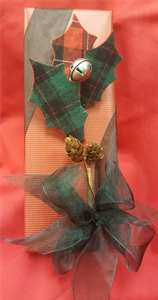 10 oz. Assorted Red Fancy Wrapped Package With Plaid Leaf