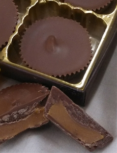 12 pc Sugar Free Milk Chocolate Peanut Butter Cups