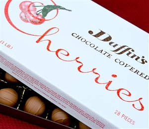 28 pc. Milk Chocolate Covered Cordial Cherries