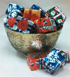 8 oz. Milk Chocolate Foil Wrapped Presents