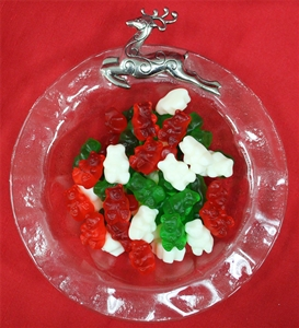 8 oz. Green, Red and White Gummi Bears
