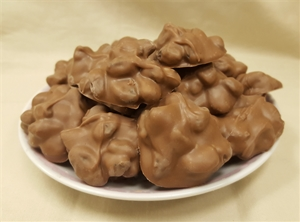 16 oz.  Milk Chocolate Raisin Clusters