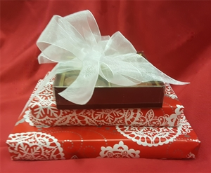 Snowflake Gift Wrap Package