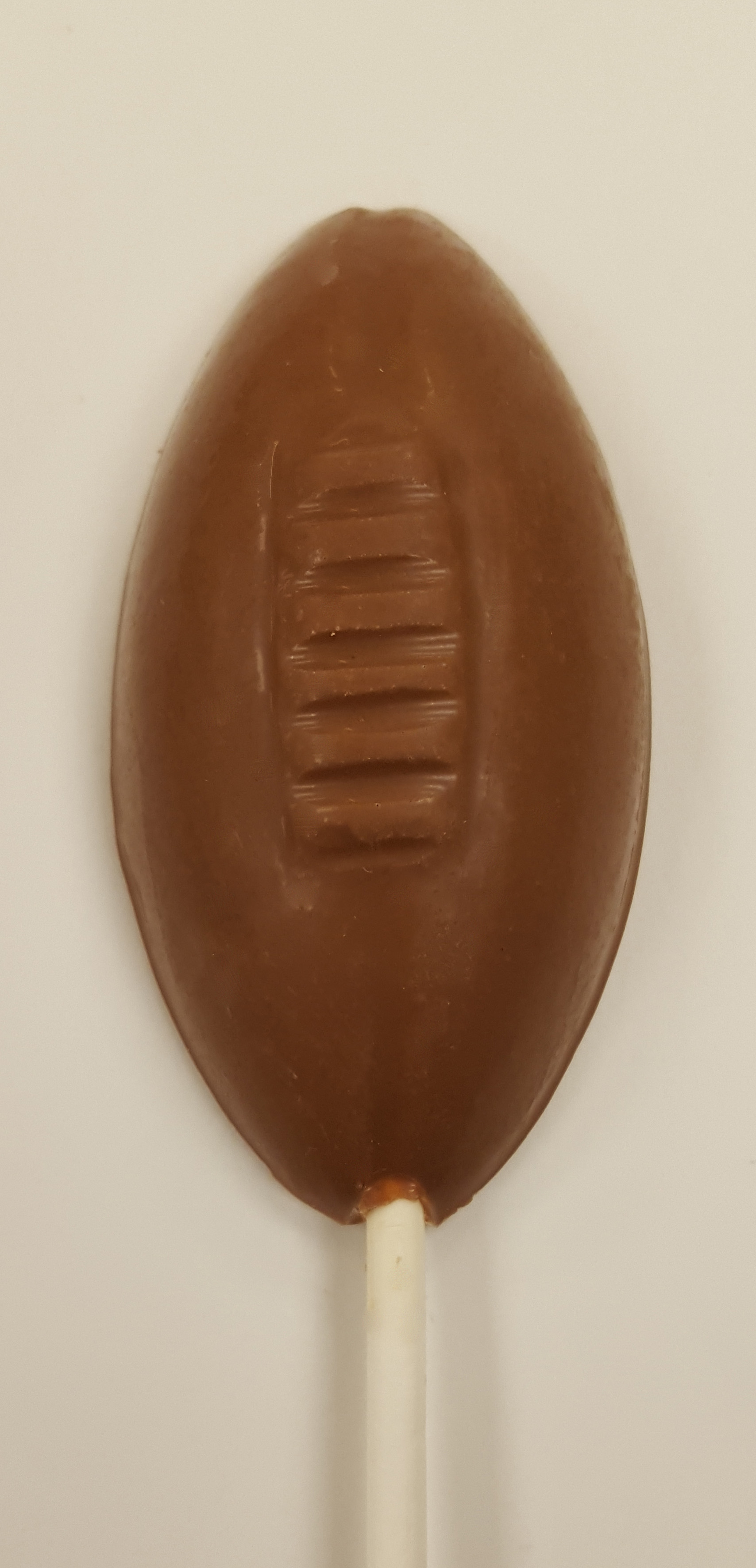 1 oz. Milk Chocolate Football Sucker